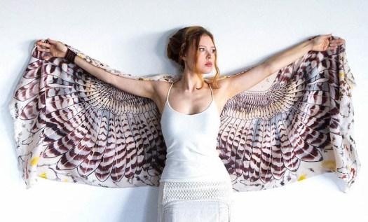 Shovava Owl Scarf Bird Accessories