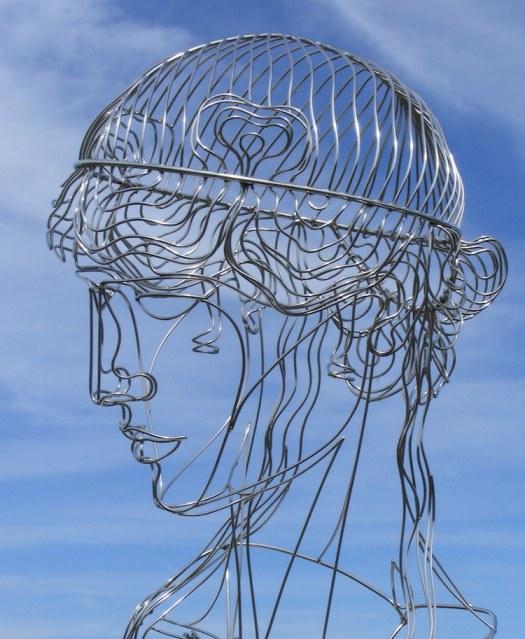 Wire Sculptures Wire Art by Martin Debenham