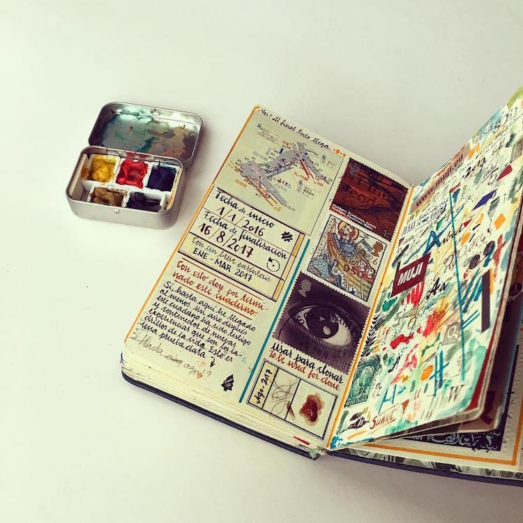 artist fills traveler s
