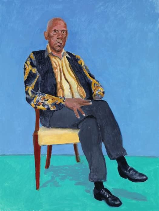 David Hockney 82 Portraits and 1 Still-Life LACMA Exhibits David Hockney Portraits David Hockney Exhibition
