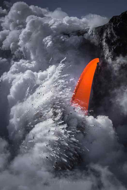 Volcano Photography by Michael S