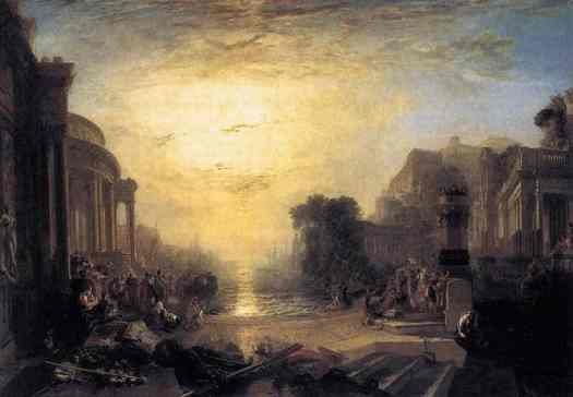 The Decline of the Carthaginian Empire JMW Turner