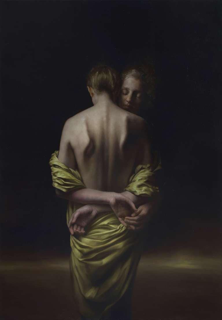 Oil on canvas by Maria Kreyn