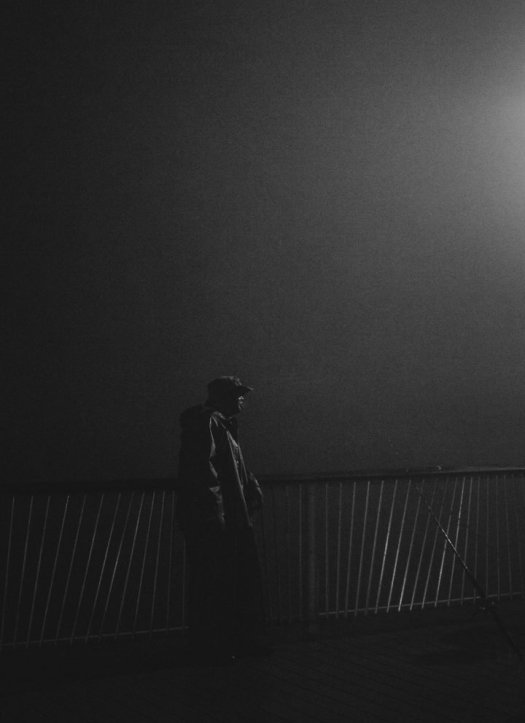Black and White Street Photography by Luc Kordas