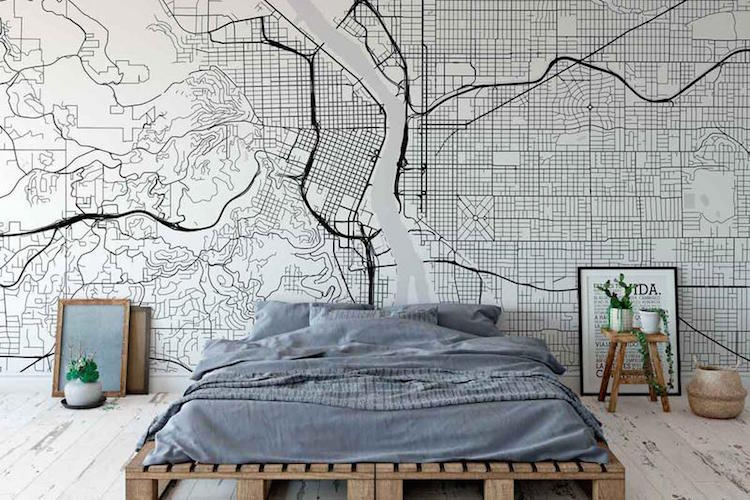 You Can Pay Homage to Your Favorite City with Stylish Map