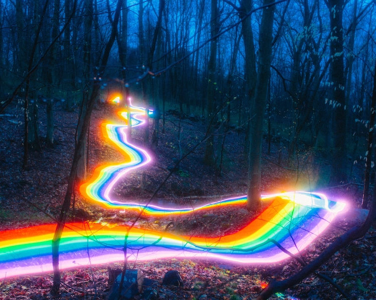 long exposure photography of