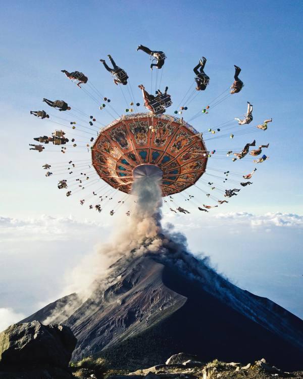 Surreal Digital Art Collage Artist