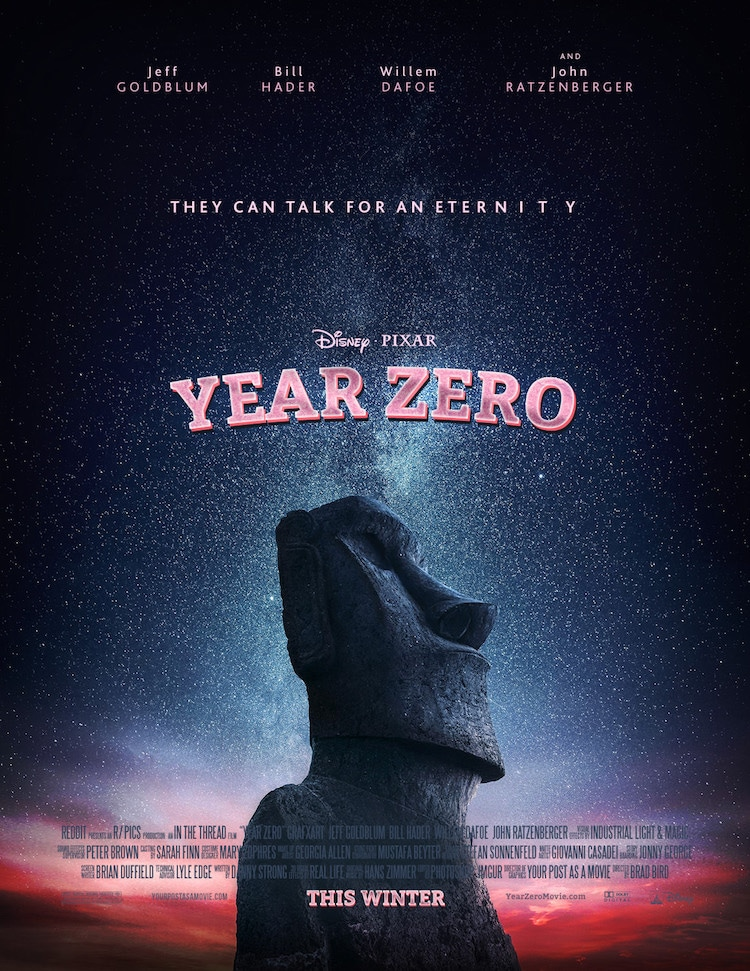 Fake Movie Posters on Reddit