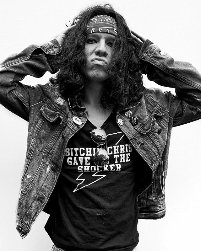 Portraits of Punks by David Burlacu