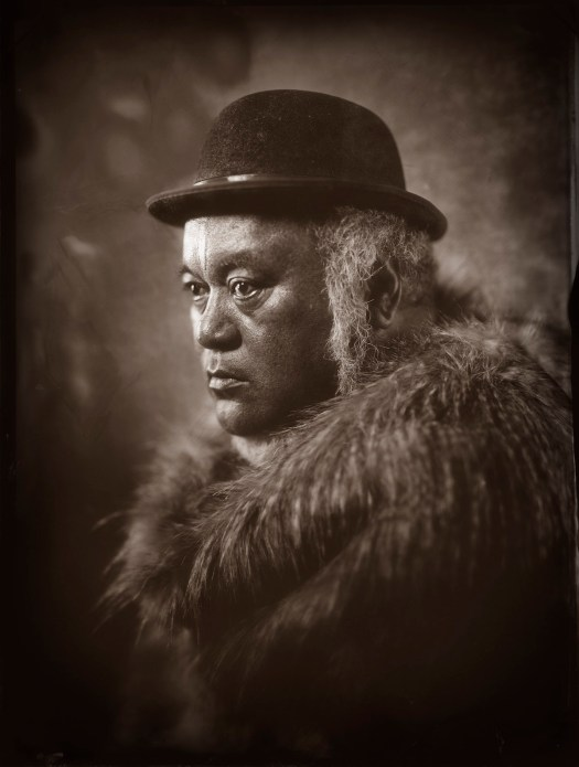Wet collodion photography by Michael Bradley