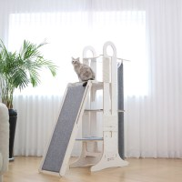 """Modern Cat Tower is the """"Ultimate Playground"""" for Fabulous ..."""