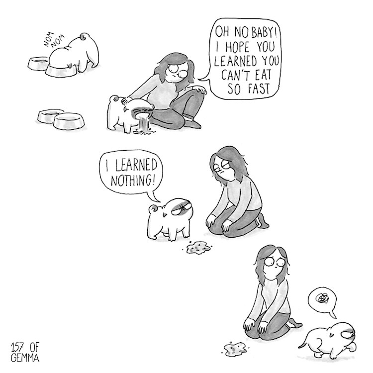 Webcomic Illustrates The Love Between a Dog Mom and Her Pug