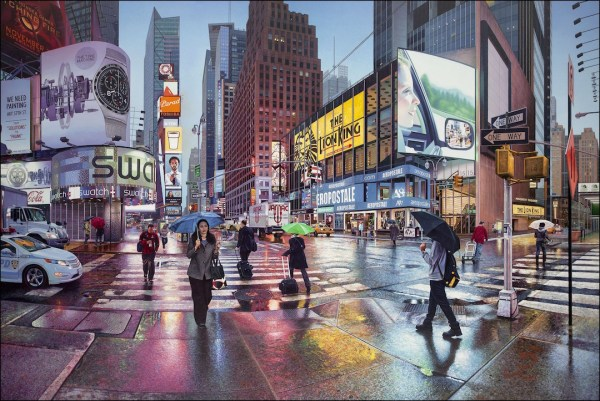 realistic cityscape paintings immerse