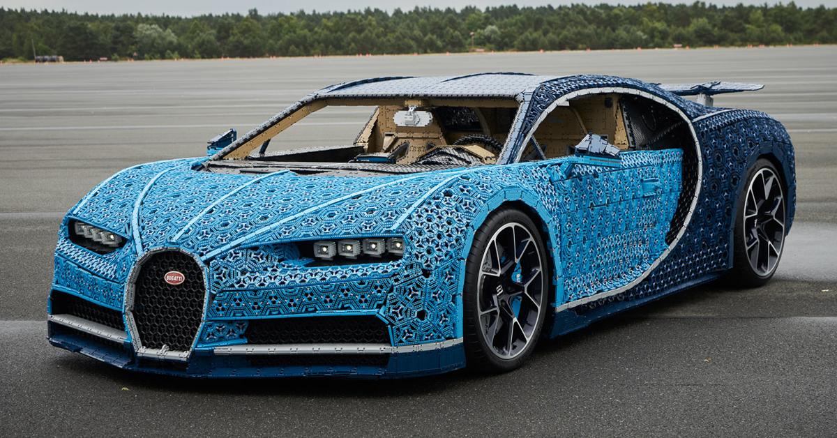 fully functional lego car