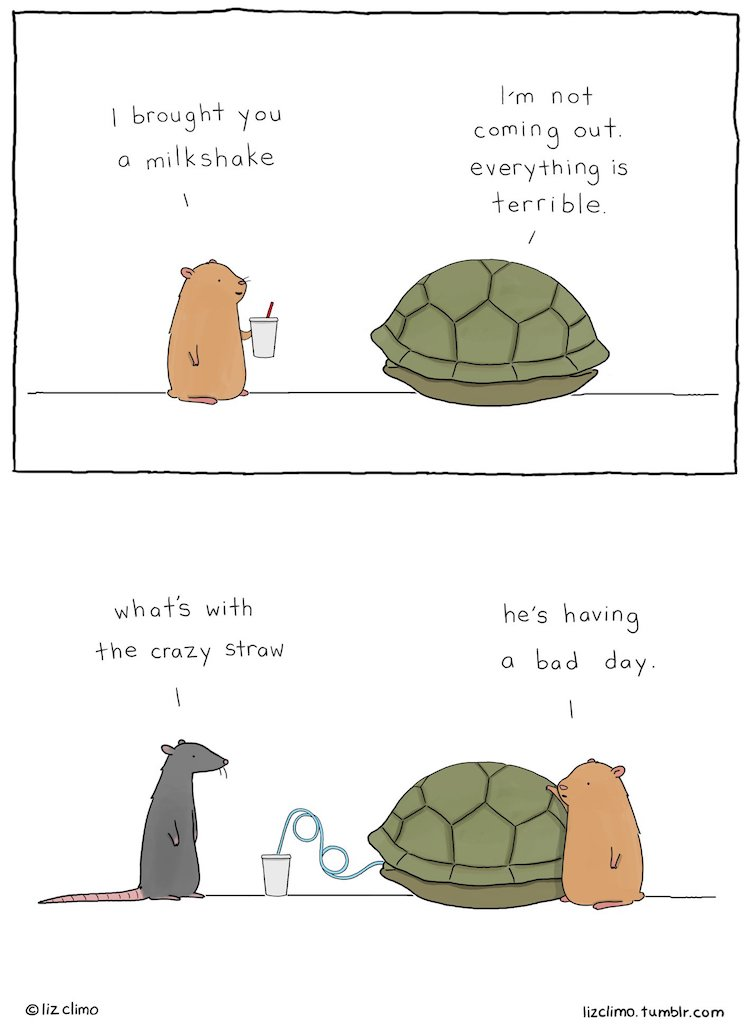 20 New Adorable Animal Illustrations by Artist and Animator Liz Climo