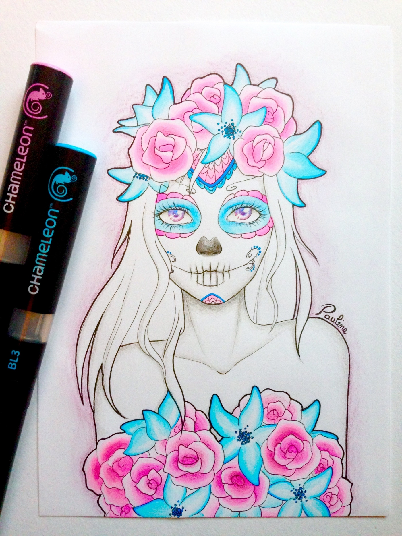 Things To Draw With Markers : things, markers, Incredible, Artists, Creative, Chameleon, Products