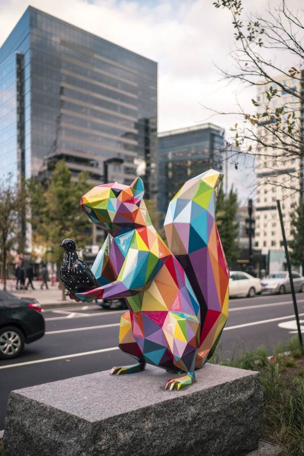 Seaport Boston Sculptures