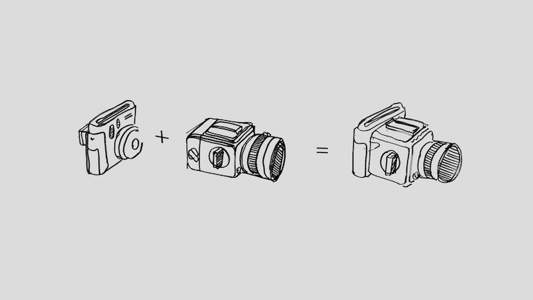 Photographers Merge a Hasselblad & Instax for Ultimate