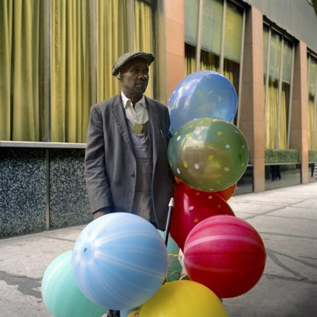 Fotos a Color de Vivian Maier