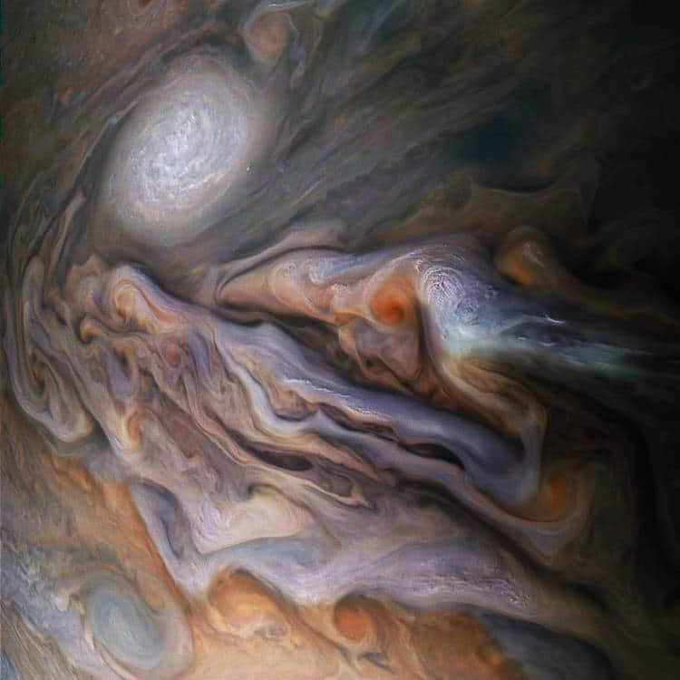 Jupiter from NASA Juno Probe