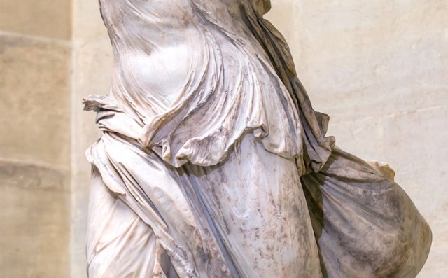 The Winged Victory of Samothrace Louvre Nike Statue