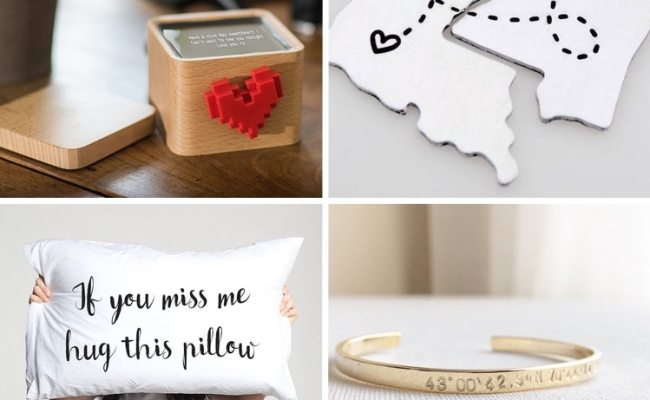 15 Romantic Long Distance Relationship Gifts Keep Your