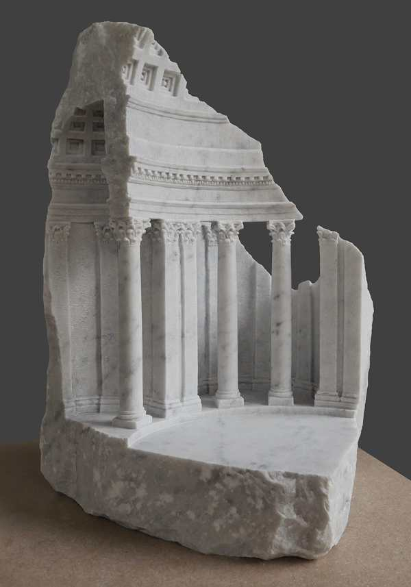 Matthew Simmonds Creates Marble Models And Architectural