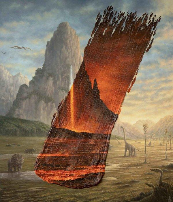 Surreal Landscape Art Brushstrokes Showcase