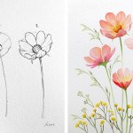 How To Draw Perfect Flowers Step By Step