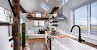 Rustic Tiny House on Wheels is Perfect for Modern Travelers