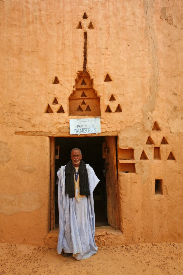 Library in Chinguetti, Mauritania