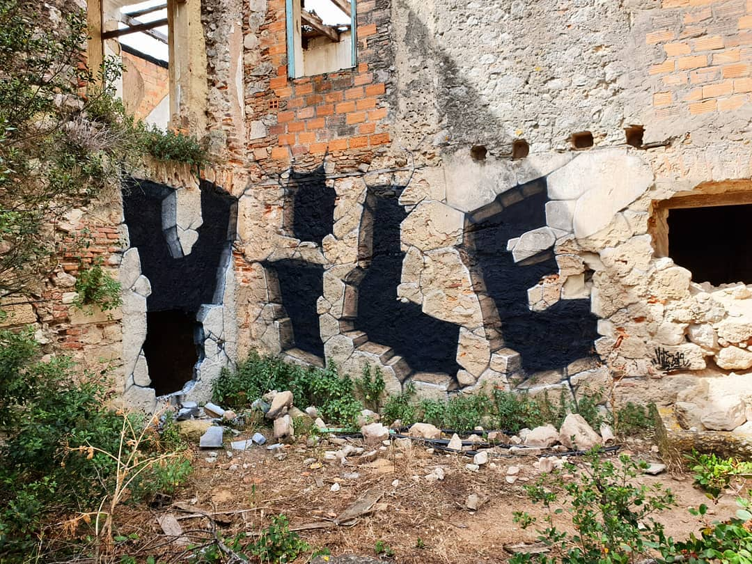 Illusionistic Graffiti by Vile