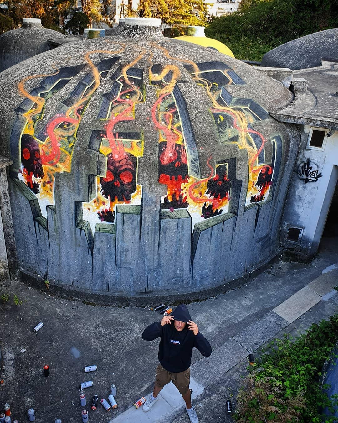 Illusion Art by Vile Graffiti