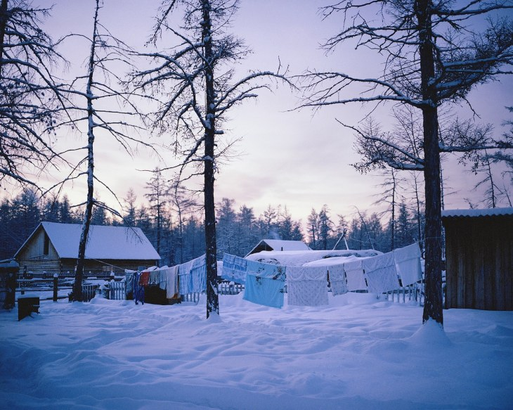 Yakut village of Magarass in Russia