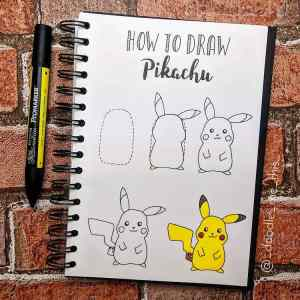 doodle easy drawing tutorials draw doodles simple step sketch subjects guest pikachu tutorial skills help array