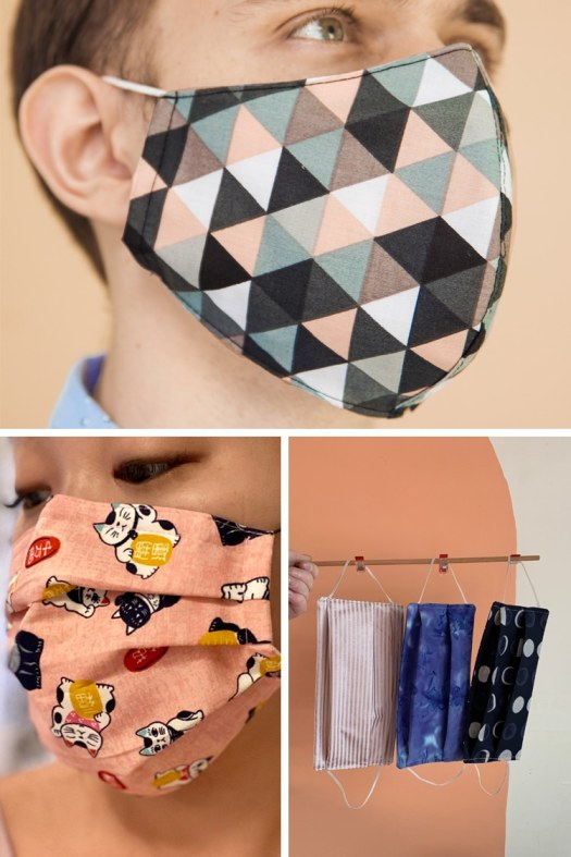 15 Colorful Cloth Face Masks That'll Help Slow the Spread ...