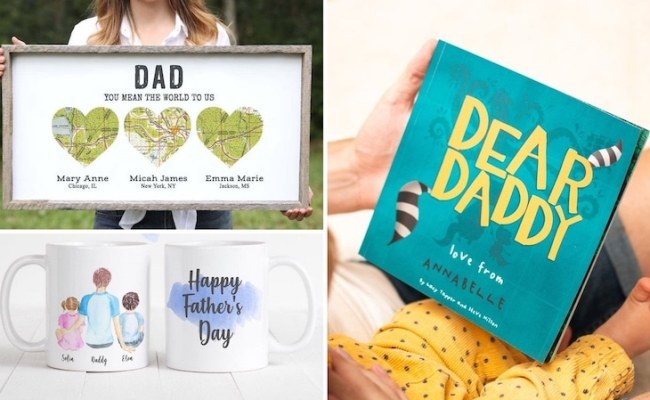 10 Personalized Father S Day Gifts To Make Your Dad Feel