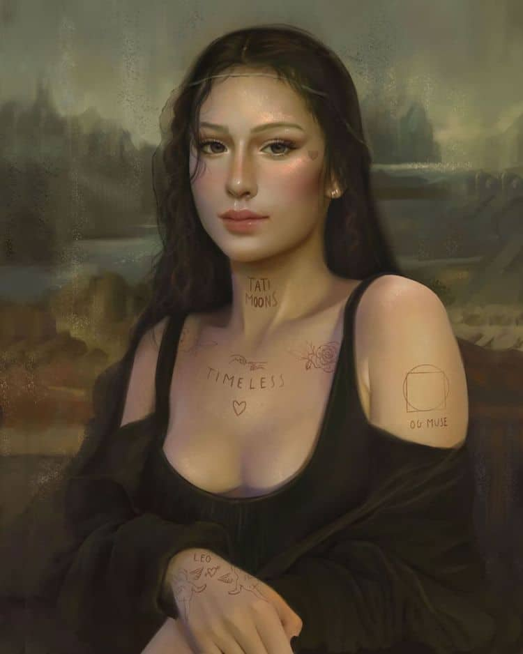 How Long Did It Take To Paint The Mona Lisa : paint, Artist, Gives,