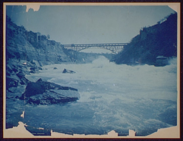 Niagara Cyanotype