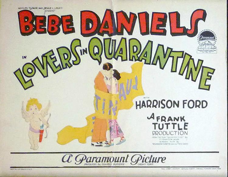 Lovers in Quarantine Public Domain