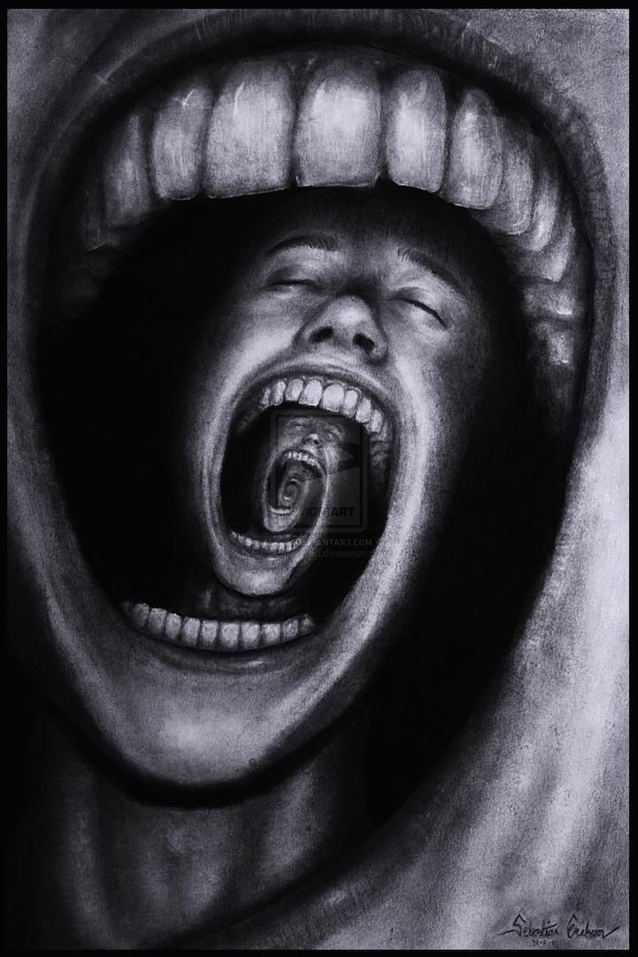 Emotional Deep Drawings : emotional, drawings, 18-Year-Old, Creates, Surreal, Artworks, Express, Emotions