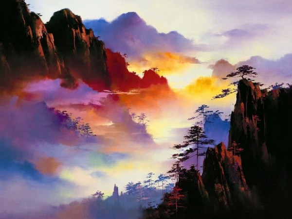 breathtakingly enchanted landscapes