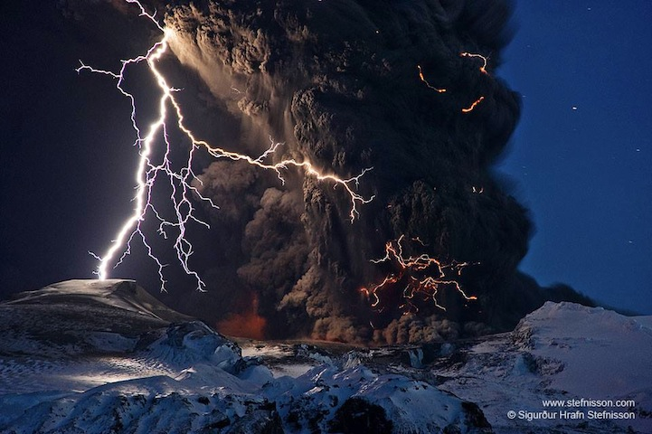 extreme weather and volcanoes