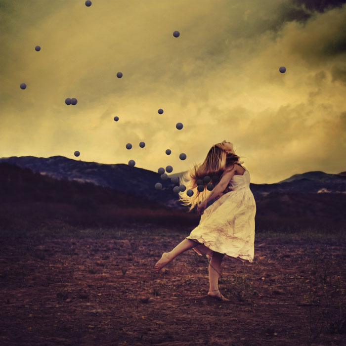 Girl Falling Through The Air Wallpaper More Mystical Photography By Brooke Shaden
