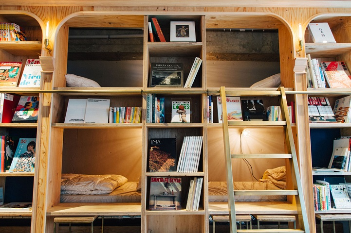 BookstoreThemed Tokyo Hotel is a Charming Literary Haven
