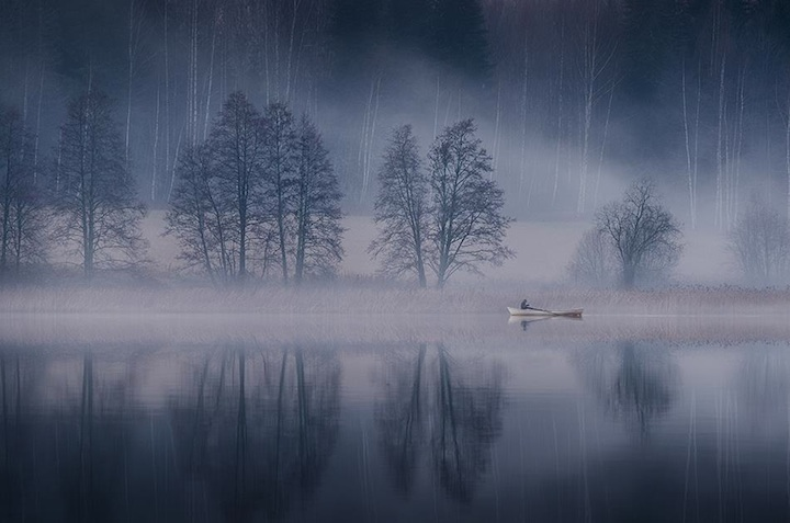 Rainy Fall Wallpaper New Mystical Foggy Scenes By Mikko Lagerstedt