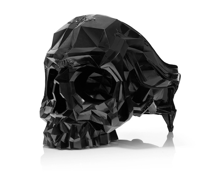 black skull chair cover hire dumfries sculptural armchair fit for an evil genius