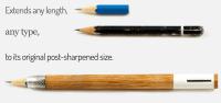 Ingenious Pencil Design Includes a Built-In Sharpener