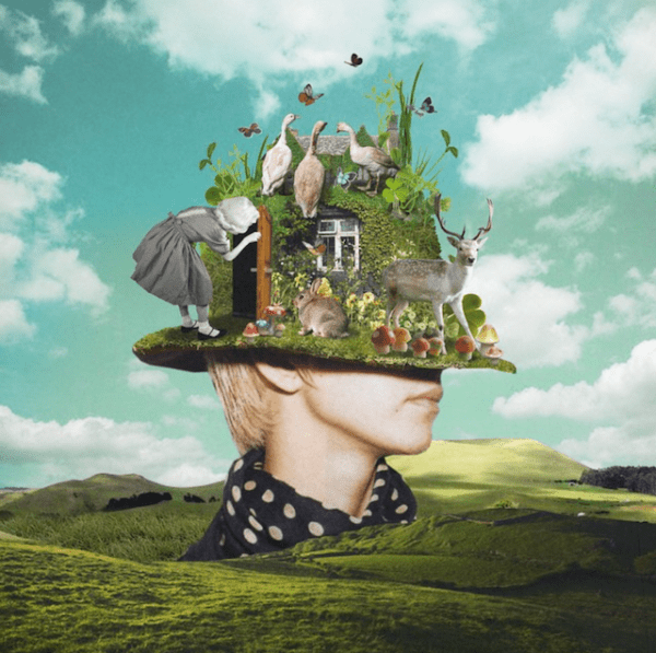 Surreal Collages Blend Vintage Elements to Create