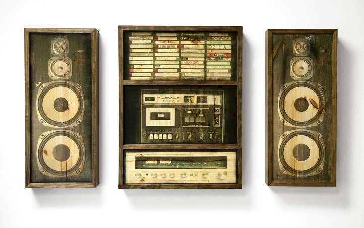 Wall Of Sounds Celebrates Vintage Music Systems As Sepia